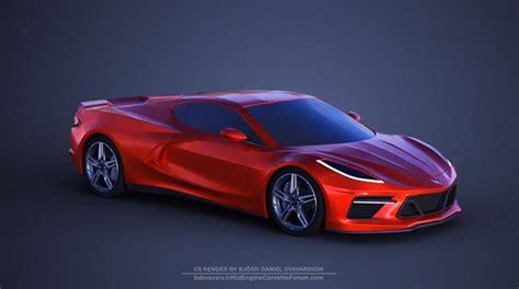 C8 Corvette News by New C8 Corvette 360 Degree Render From Bdsvavars