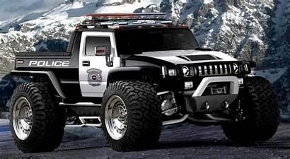 Police Wallpapers Cool Monster Trucks Hummer Cars