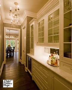 Elegant Butler's Pantry - Traditional - Kitchen - Chicago