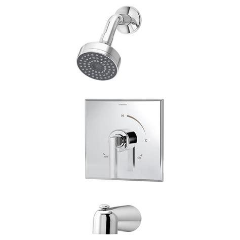 delta mandara single handle 1 spray tub and shower faucet