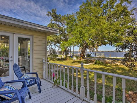 Waterfront Cottage On Indian River Near Cocoa Vrbo