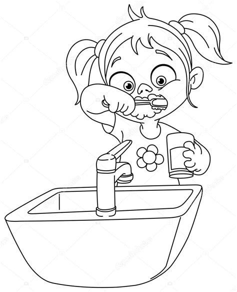 Imágenes: niños cepillando los dientes animados para