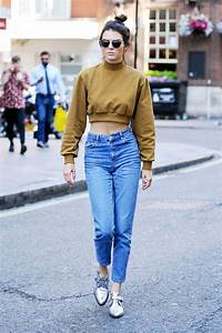 Kendall Jenner Mom Jeans Outfit - High Waisted Denim