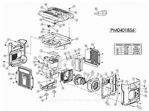 Powermate Formerly Coleman Pm0401856 Parts Diagram For