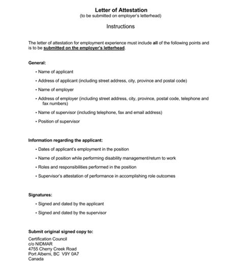 notarized letter templates samples writing guidelines