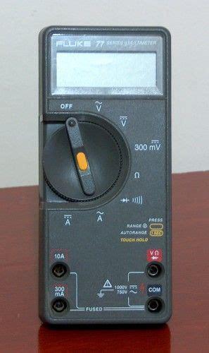 digital multimeter fluke model  electrical