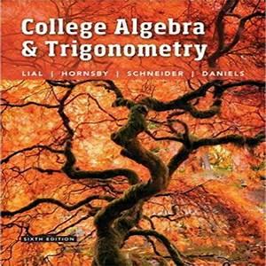 Lial Hornsby Schneider Trigonometry 9th Edition Pdf Donkeytime Org