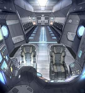 Star Fall Drop Ship Interior by Hideyoshi on DeviantArt