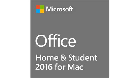 microsoft office home student 2016 software for mac 1
