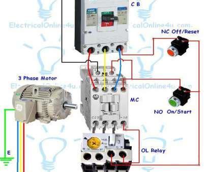 wiring a 3 phase motor starter impremedia net