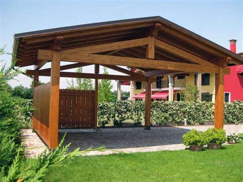 piccole tettoie in legno foto tettoie il legno lamellare di falegnameria ambrosio