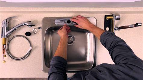 comment changer un robinet mitigeur de cuisine rona comment installer ou remplacer un robinet sur un