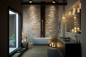 salle de bain luxe avec baignoire design en 36 belles images With salle de bain luxe design