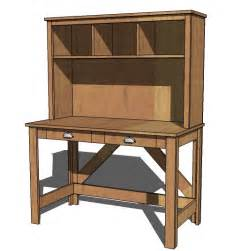 Desk With Hutch Plans by White Brookstone Desk Hutch Diy Projects