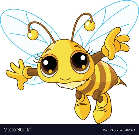 Bee Images Bee Royalty Free Vector Image Vectorstock