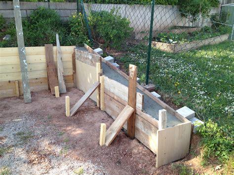 Wieviel Steine Für Garage by Betonfundament F 252 R Gartenhaus Und Hangsicherung Hausbau