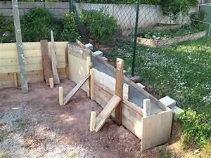 Bauen Auf Lehmboden : betonfundament f r gartenhaus und hangsicherung ~ Markanthonyermac.com Haus und Dekorationen