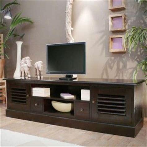 meuble tv bas wenge