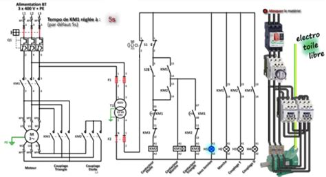 Electrical Page Star Delta Phase Motor Wiring Diagram