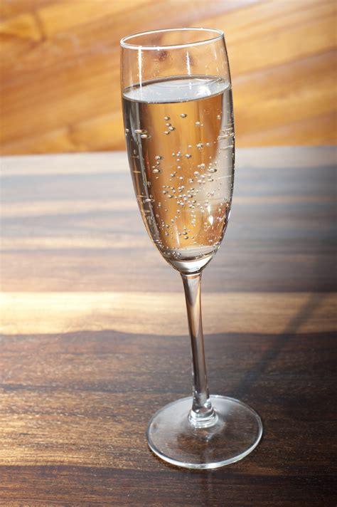 elegant flute  sparkling wine  stock image