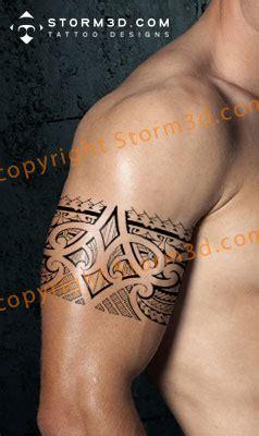 tribal armband leg band tattoos  polynesian  maori