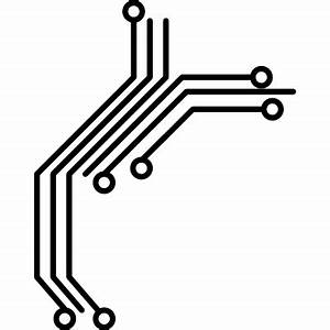 Circuit print for electronic products ⋆ Free Vectors ...