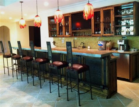Residential Bars by No Carves Custom Furniture Niche In West Midtown