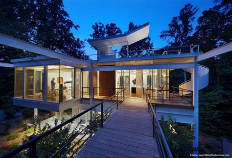 Modern Home Design Nc by Chiles Residence In Raleigh Carolina By Tonic