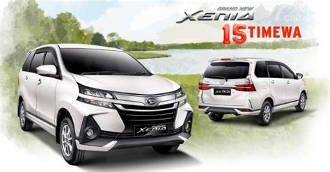 Daihatsu Grand Xenia Picture by Review Daihatsu Grand New Xenia R Mt 1 5 Deluxe 2019