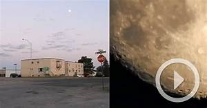 New camera allows you to zoom in to the surface of the for New camera lens allows you to zoom in to the surface of the moon way in