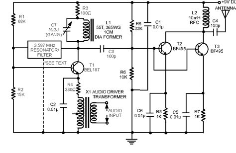 Transmitter Received Radio