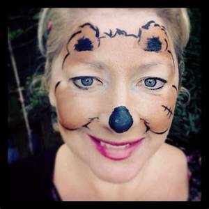bear-face-painting Images - Frompo - 1