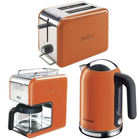 orange kenwood kmix boutique kettle stylish modern