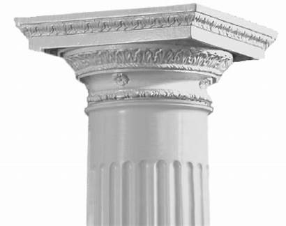 Colonial Columns Wood Doric Capital Roman Inc