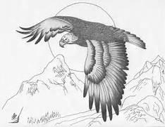 Easy Eagle Drawings Ea...