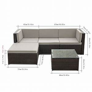 modern wicker patio furniture With l shaped rattan furniture covers