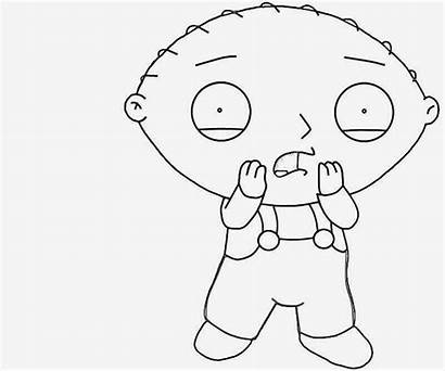 Coloring Pages Stewie Griffin Easy Printable Things