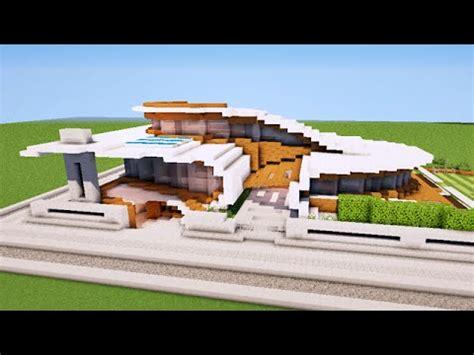 HD wallpapers tuto maison moderne de luxe minecraft