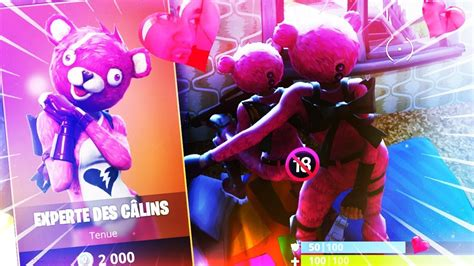 fortnite deux oursons se font lamour en pleine game