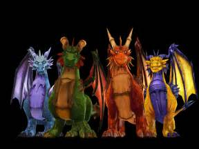Spyro Year of the Dragon Characters