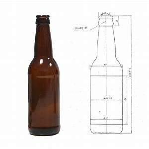 330ml amber glass beer bottle 12oz glass beer bottle With beer label size