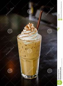 Iced Coffee With Whipped Cream Stock Photo - Image: 40746832