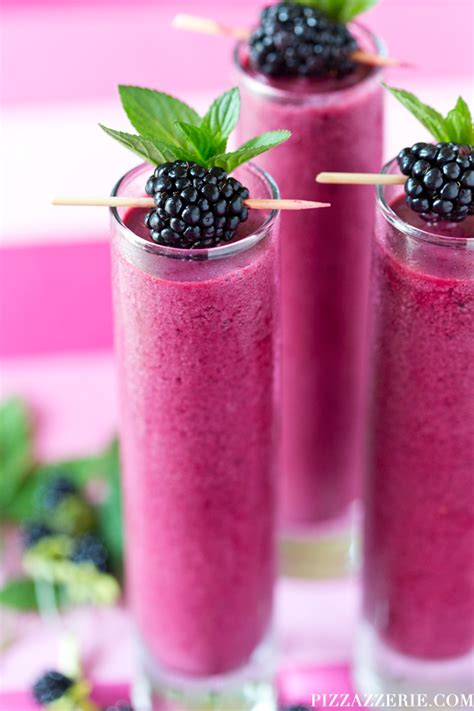 summer drink recipe blackberry coolers pizzazzerie