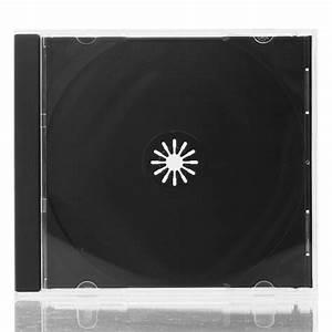 Cd Jewel Case Fit 1    Black Tray    10mm    200pcs