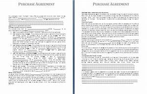 purchase agreement template free agreement and contract With purchase terms and conditions template