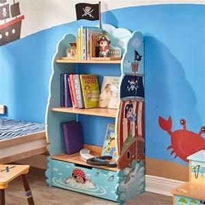Meuble Bibliothèque Enfant : d coration chambre d 39 enfant le rangement de pirate d corer ~ Preciouscoupons.com Idées de Décoration