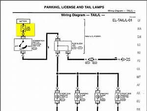 1999 Infiniti G20  Brake Lights  Tail Lights  Parking