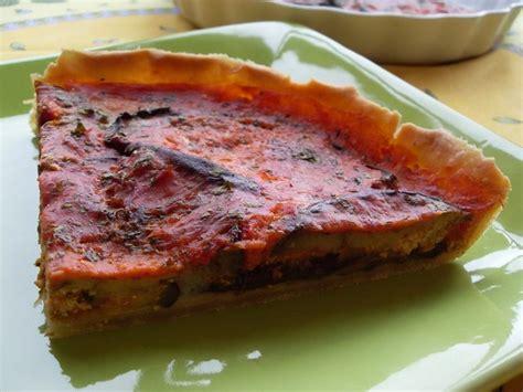 tarte aux aubergines vegan vegan