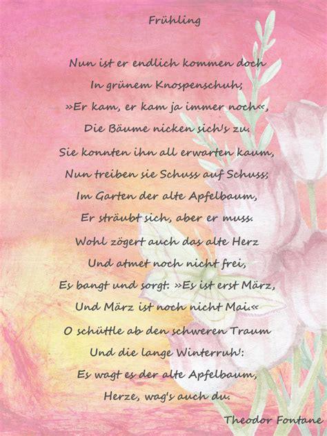 fruehling gedicht von theodor fontane abc wichte