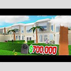 $1,000,000 Roblox Bloxburg Mansion Villa Tour  Doovi